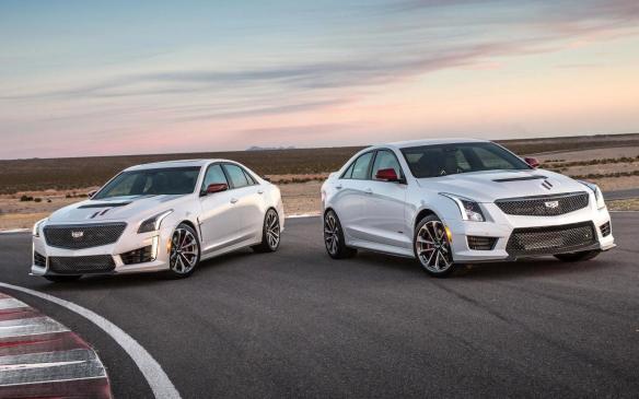 2018 Cadillac CTS-V (l) and ATS-V Championship Editions