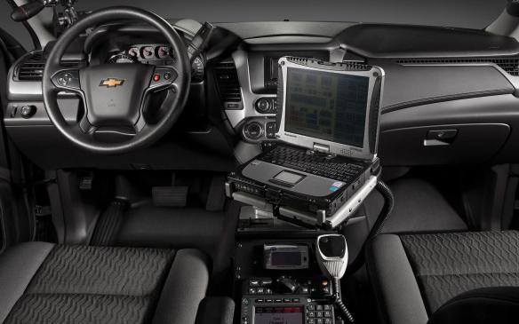 <p>2015 Chevrolet Tahoe PPV interior</p>