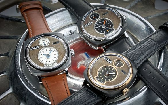 P-51 watches made from authentic classic Ford Mustang pieces