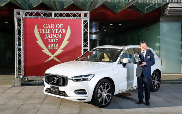 <p>Volvo's already feted XC60 beat out the Alfa Romeo Stelvio, the Italian first SUV, and the Honda Odyssey minivan to be named the North American Utility of the Year. The XC60 already won the Japan Car of the Year Award.</p>