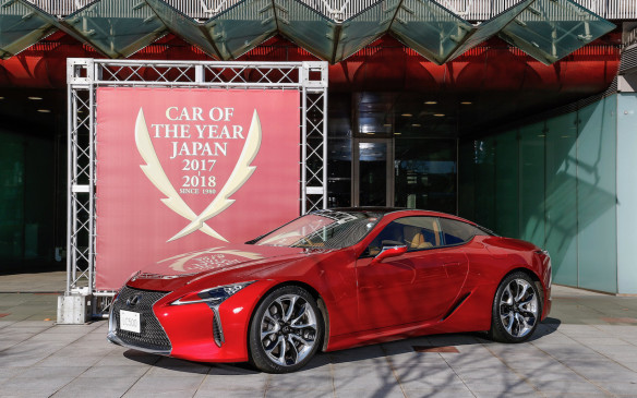 <p>2018 Japan Car of the Year Awards</p>