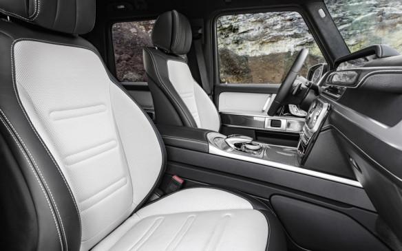 <p>Mercedes-Benz G-Class seats</p>