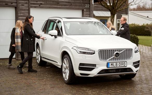 Drive Me Hain Family with autonomous Volvo XC90
