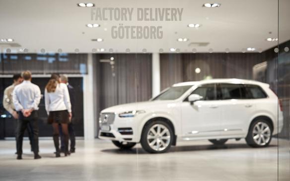 <p>Hains take delivery of Drive Me autonomous Volvo XC90</p>