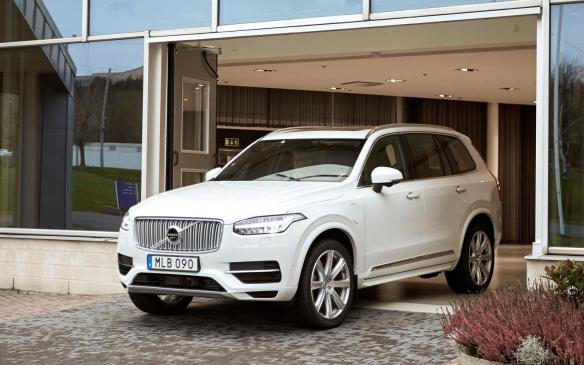 <p>Drive Me Volvo XC90 Autonomous SUV</p>