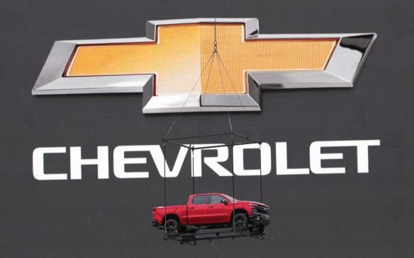 <p>2019 Chevrolet Silverado makes grand entrance at 100-year anniversary event</p>
