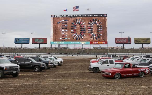<p>Chevrolet Silverado 100-year anniversary celebration</p>