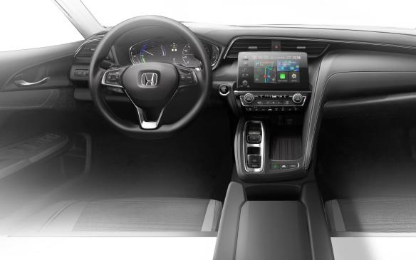 <p>Honda Insight Prototype Interior teaser</p>