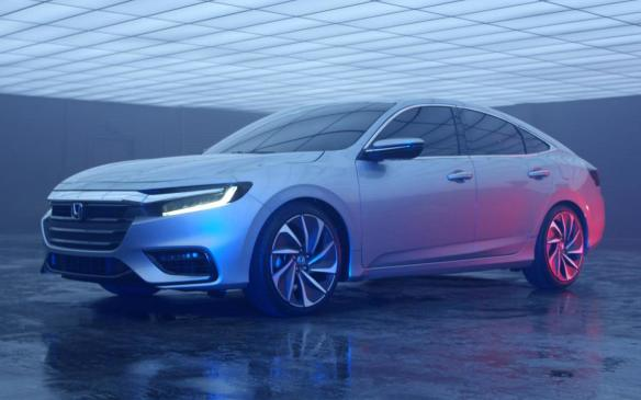 <p>Honda Insight Prototype teaser</p>