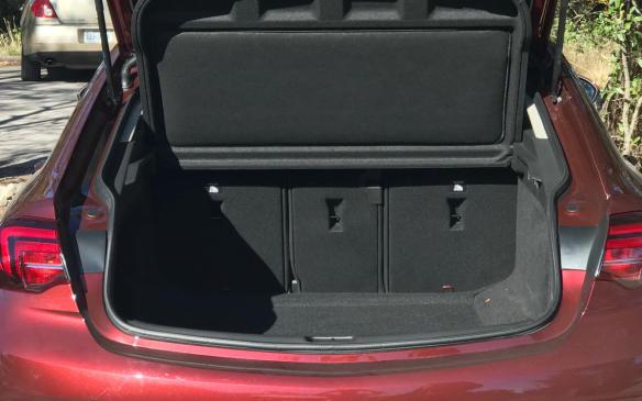 <p>Buick Regal Sportback trunk</p>