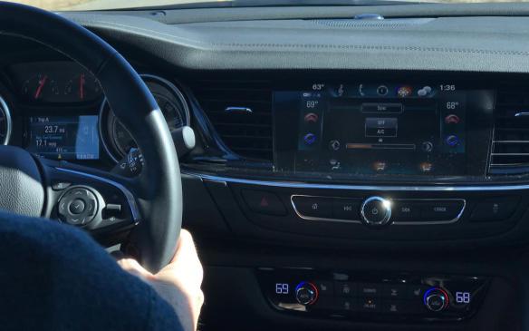 <p>Buick Regal Sportback interior</p>