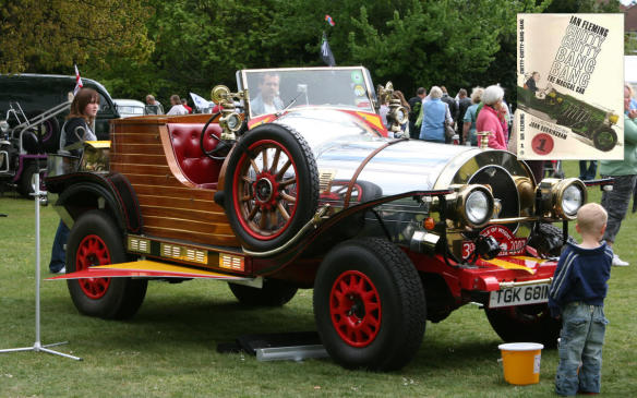 "<p>Many times, we remember the screen versions of vehicles, even though they are often just easy props used to depict fictional literary vehicles. Chitty-Chitty-Bang-Bang's backstory has it as the only Paragon Panther — described by author Ian Fleming (yes, that Ian Fleming) as a ""12-cylinder, 8-litre, supercharged"" car — to come off the production line before Paragon went out of business. The car is purchased and restored by inventor Caractacus Pott, and renamed by the Pott children for the sound of its starter-motor and backfire. A big, powerful long-hood, 4-seat touring car, it shows itself capable of flying, hovering over water and even to reason. (Wikipedia/Paul Slade)</p> <p><a href=""http://amzn.to/2DsI1f1"">Buy Chitty-Chitty-Bang-Bang at Amazon.ca</a></p>"