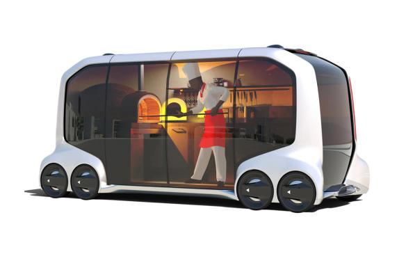 <p>Toyota e-Palette Concept food-truck</p>