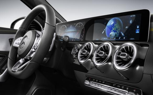 <p>The Mercedes-Benz User Experience (MBUX), the company's new infotainment system that will be introduced in the next generation A-Class, features innovative technology based on artificial intelligence, an intuitive operating system, 3-D displays, connectivity to enable updates on the go, and control over everything via touchscreen or by voice control (in a conversational manner).</p>