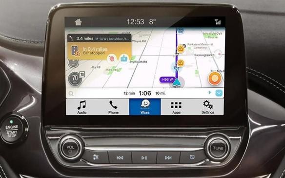 <p>Ford is making it easier to take your Smartphone's GPS navigation services along for the ride, with announced easier integrations of Waze (the mobile app that provides turn-by-turn navigation, travel times, route details, and location-dependent information) into SYNC, allowing the app to be controllable through the Ford vehicle's touchscreen, simply by plugging the Waze-enabled Smartphone into the vehicle's USB port. It will even support voice commands, and HOV lane routing.</p>