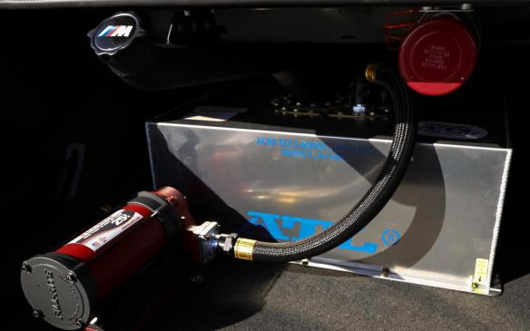 <p>BMW M5 drift fuel tank</p>