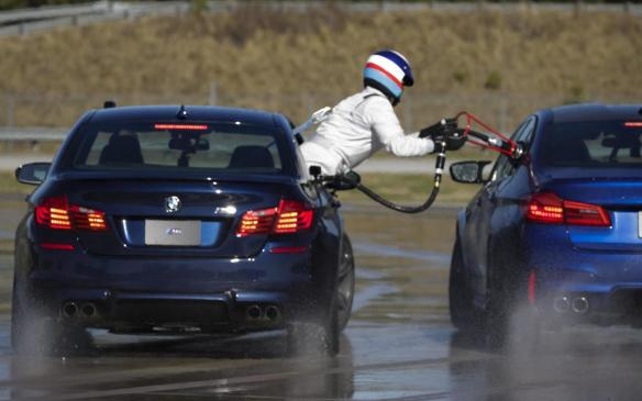 <p>BMW M5 drift refuel</p>