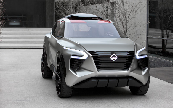 "<p>Nissan has revealed a crossover concept, called the Xmotion (pronounced ""cross motion""). Its futuristic design of the six-passenger, three-row vehicle is said to be an exploration for a potentially groundbreaking compact SUV that fuses Japanese culture and traditional craftsmanship with American-style utility and new-generation Nissan Intelligent Mobility technology.</p>"
