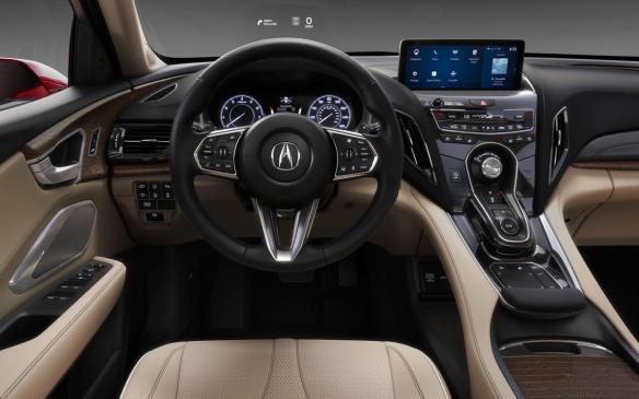 <p>Acura RDX Prototype interior</p>