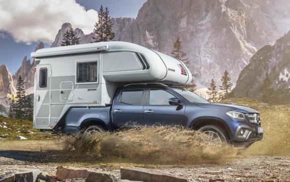 Mercedes-Benz X-Class with Tischer demountable camper