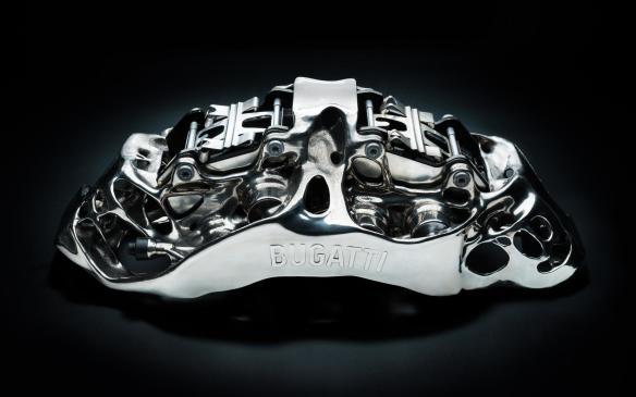 Bugatti 3D-printed brake calliper