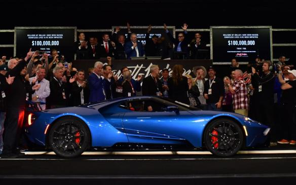 <p>2017 Ford GT on auction at 2018 Barrett-Jackson</p>