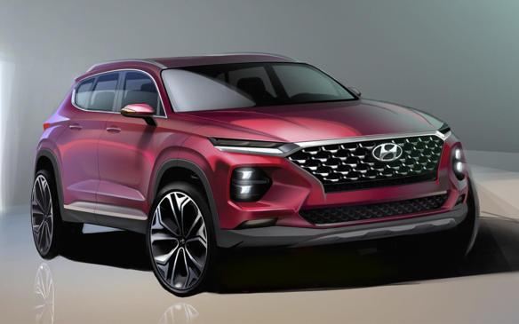 <p>Fourth generation Hyundai Santa Fe</p>