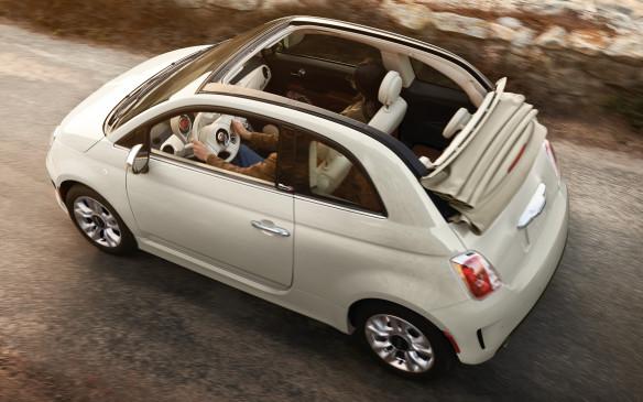 <p>2018 Fiat 500 Cabrio</p>