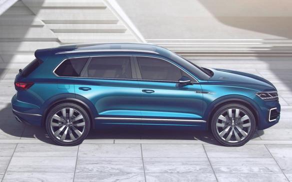 <p>Volkswagen T-Prime GTE Concept</p>