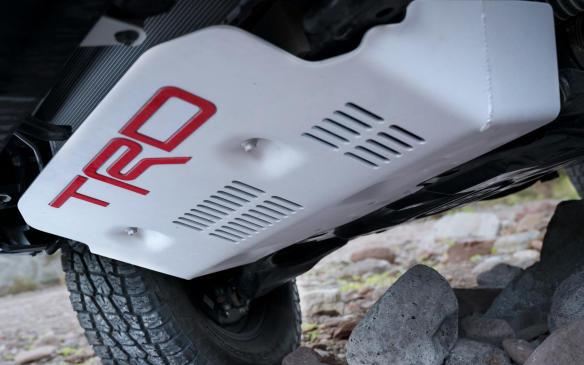 <p>2019 Toyota TRD Pro 4Runner skid plate</p>
