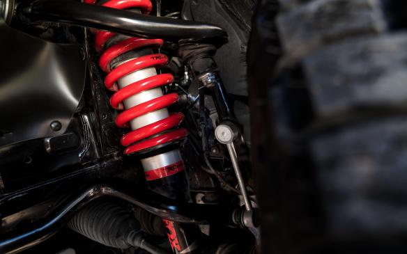 <p>2019 Toyota TRD Pro 4Runner coil springs</p>