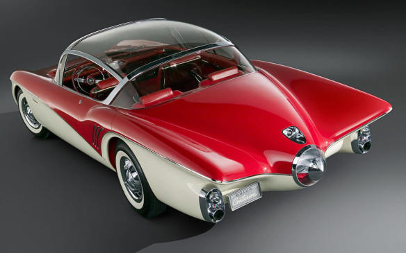 <p>Although rearview cameras came into widespread use on production vehicles around the turn of the millennium (on luxury vehicles), they have been present in the aftermarket for about a decade before that, and the first backup camera was displayed on the Buick Centurion concept car at the 1956 General Motors Motorama. That vehicle also debuted the first in-dash display that would display the video feed from the backup camera located on rear of the vehicle, since it didn't have a rearview mirror.</p>
