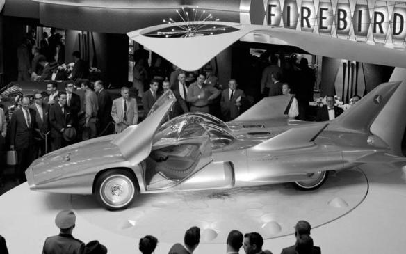 <p>Looking to the future from 60 years past, the Firebird III was designed and built specifically for GM's 1959 Motorama extravaganza, where it made its public debut in New York's Waldorf Astoria hotel on October 16, 1958. It also appeared at General Motors of Canada's version of Motorama, in Toronto, in 1959.</p>