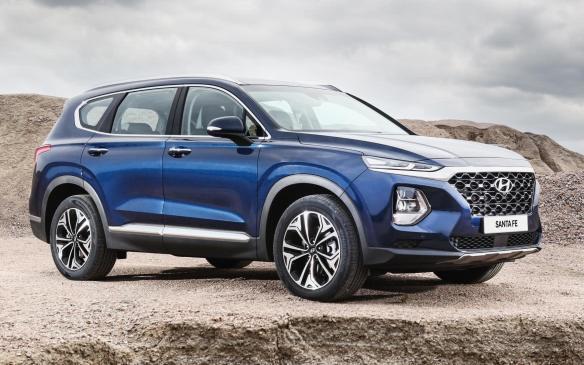 <p>2019 Hyundai Santa Fe</p>