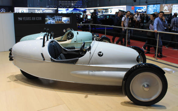 <p>A similar size to H. Godefroy et Lévêque's Super, and a similar concept, but the electric mini-cars now made by Morgan in the U.K. go a lot quicker. Their motors create 82 hp, but since they only weigh 525 kg, they'll hit zero-to-100 km/h in six seconds flat. They cost more than $80,000, but don't think about bringing one to Canada – they're only road-legal in Europe.</p>