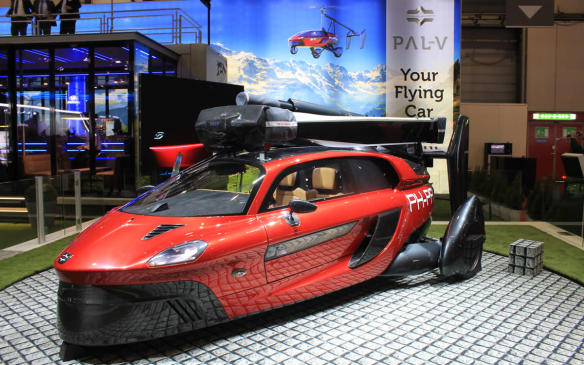 <p>One of the stars of the show is the PAL-V Liberty, a flying car built by a Dutch company that says it's ready now for certification with road and aviation authorities. It's officially a gyroplane-and-car combination that can fly about 500 kilometres on a tank of gas. The company plans a first run of 90 Libertys, each with a price tag of around €500,000 (about $803,500 Canadian).</p>