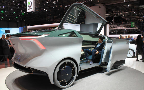 <p>Even larger, if you can believe it, is the Icona Nucleus, which is a fully self-driving concept with lounge space inside for up to six people. No, you can't buy it yet, but it gives an idea of the direction transport is headed.</p>
