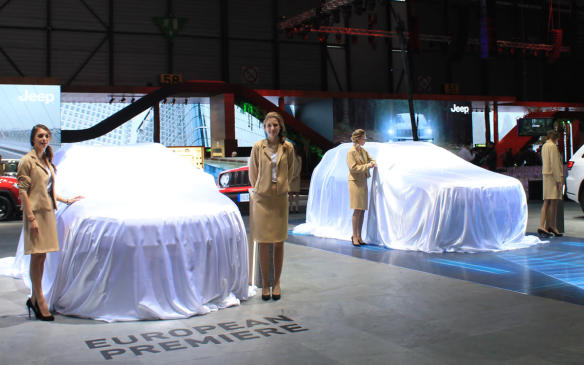 """<p>The exhibitors agreed that this year, there would be no """"booth babes"""": skimpily-dressed young women paid to stand next to the cars and make them look good. Instead, there would be """"product advisors."""" The fact the product advisors are all beautiful and almost all women must be purely coincidental.</p>"""