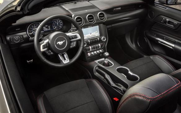 <p>2019 Ford Mustang GT California Special interior</p>