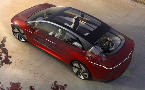 <p>Volkswagen I.D. Vizzion Concept</p>