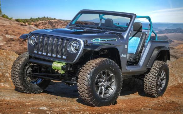 <p>Jeep 4SPEED Concept</p>