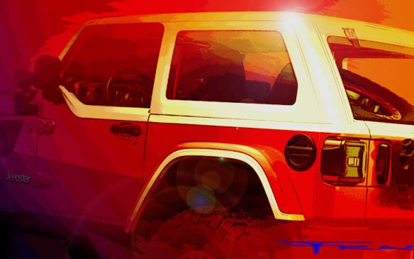 <p>Jeep Jeepster Concept teaser</p>