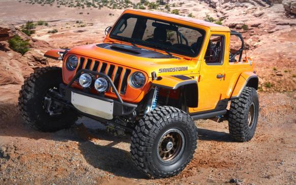 <p>Jeep Sandstorm Concept</p>