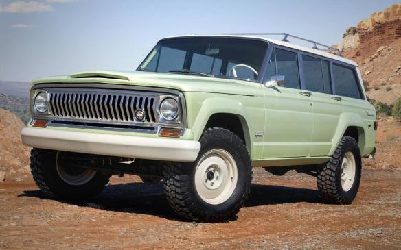<p>Jeep Wagoneer Roadtrip Concept</p>