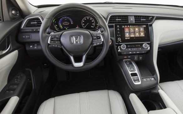 <p>2019 Honda Insight interior</p>