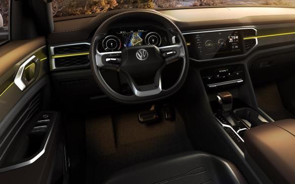 <p>VW Tanoak Concept interior</p>