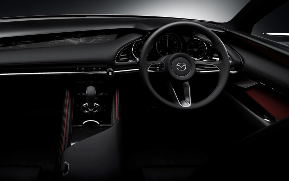 <p>Mazda Kai Concept interior</p>
