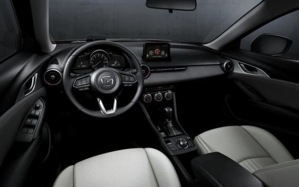 <p>2019 Mazda CX-3 interior</p>