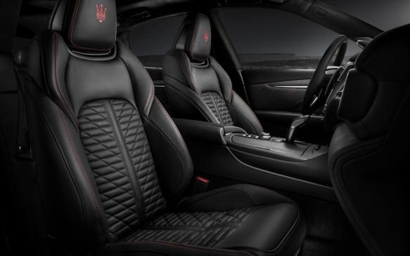 <p>Maserati Levante Trofeo interior</p>