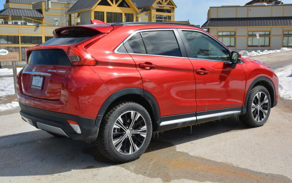 <p>The Eclipse Cross gets going quickly thanks to its torque, but its CVT seems to slow the process down at higher speeds or while attempting to pass other commuters. Its sweet spot is found under gentle acceleration and at the speed limit – that's where the Eclipse Cross turns into the quiet, smooth and effortless machine families will enjoy.</p>